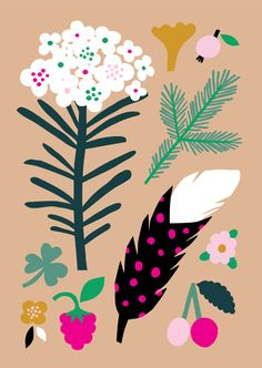Pastel Forest on Behance