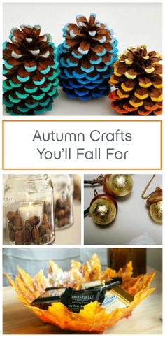 DIY your way to a festive fall home! This list of fun and easy fall crafts offer you with a wide range of décor to choose from that also serve as fun activities to do with friends and family.