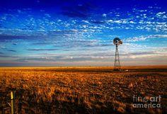 Texas Photograph - Texas Plains Windmill by Fred Lassmann