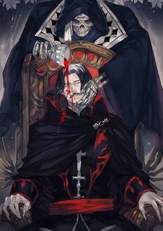 Fanart- Castlevania (Death/Dracula) by YitJulia on DeviantArt Castlevania Dracula, Alucard Castlevania, Castlevania Netflix, Hellsing Alucard, Gothic Horror, Arte Horror, Castlevania Wallpaper, Manga Anime, Anime Art