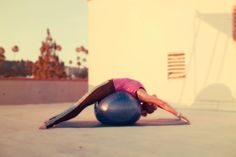 24 Most Effective Stability Ball Exercises To Enhance Your Body Shape