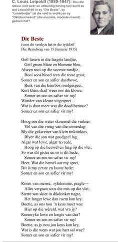 Deur C Louis Leipoldt
