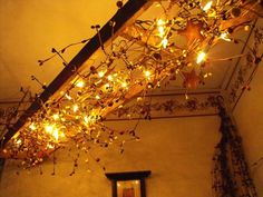 Basement / Dining Room - Hanging Ladder with Lights