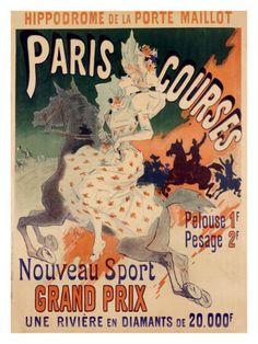 Paris Courses - Jules Chéret
