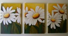 cuadros de cala con relieve - Buscar con Google Wall Canvas, Canvas Art, Paint Party, Hobbies And Crafts, Daisy, Diy Art, Art Pictures, Flower Art, Abstract Art