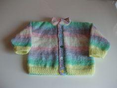 Baby Jacke stricken ab Größe 74/80 » Handarbeiten mit Anleitung Knitting Stitches, Socks, Gramm, Sweaters, Baby Set, Bambi, Luigi, Espresso, Fashion