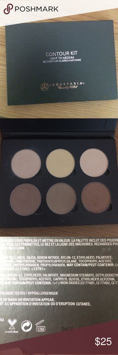 Anastasia Contour Kit I bought this from another posher but I have barely used it since I have the Cheekathon one. It's in great condition. Please buy at your own risk because I bought this from another posher. I bought this completely new but have used this a few times. Purchased Feb. 20,2016. Anastasia Beverly Hills Makeup Bronzer