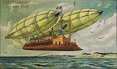 Em 1910, artista francês Villemard fez a série de ilustrações Utopie imaginando como seria o ano 2000. Nos desenhos, é possível perceber que o ilustrador acertou em algumas previsões, como os tanques que surgiriam pouco tempo depois na Primeira Guerra Mundial e a teleconferência.
