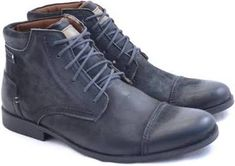 sapato masculino cano medio Flatform, Dr. Martens, Combat Boots, Shoes, Fashion, Luxury Shoes, Men Shoes, Wedges, High Heels