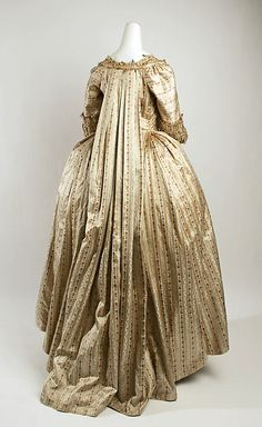 Dress Date: 1775–80 Culture: probably British Medium: silk Accession Number: C.I.61.33.1a, b