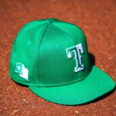 Happy St. Patrick's Day!🍀 The post Texas Rangers: Happy St. Patrick's Day!… appeared first on Raw Chili. Mlb Texas Rangers, Happy St Patricks Day, Chili, Chile, Chilis