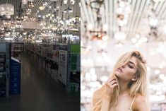 One photographer has set out to prove you don't need a beautiful location to take amazing snaps by holding a photoshoot inside a Lowe's store.