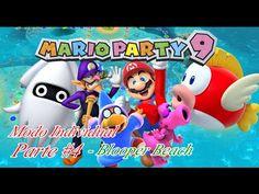 Mario Party 9: Modo Individual ep #4 Blooper Beach