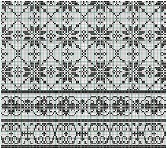Charts good for either cross-stitch or filet crochet ~~ The bottom ones would look nice as filet crochet insert or edging ~~ imgbox - fast, simple image host Cross Stitch Borders, Cross Stitch Charts, Cross Stitching, Cross Stitch Embroidery, Cross Stitch Patterns, Fair Isle Knitting Patterns, Fair Isle Pattern, Knitting Charts, Knitting Stitches