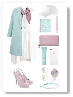 """""""Little white dress """" by xanniee on Polyvore featuring Chicwish, Gucci, Kate Spade, KORA Organics by Miranda Kerr, Witchery, Urban Decay, CITYSHOP and Chloé"""