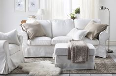 Refresh your living room for fall with new slipcovers and textiles. These are…