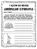 Good culminating activity after teaching the different U.S. symbols.