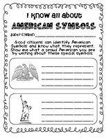 free American Symbols printable