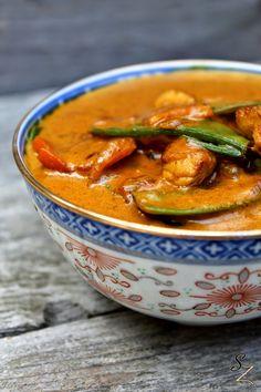 Gelbes Curry mit Jasminreis