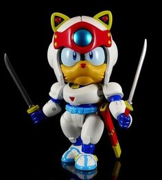 Samurai Pizza Cats action figure