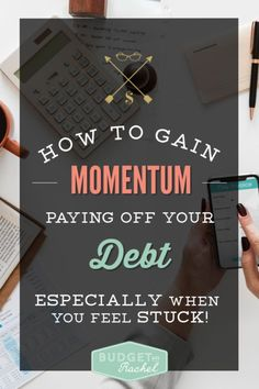 Win At Paying Off Debt: How to Gain Momentum When Your Debt Feels Impossible - Credit Card Payment - How to calculate credit card payment? - How to gain momentum paying off your debt Small Business Credit Cards, Paying Off Credit Cards, Debt Snowball Calculator, Debt Snowball Worksheet, Thing 1, Get Out Of Debt, Hacks, Debt Payoff, Debt Free