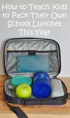 ad How to teach kids to pack lunches this school year. Free printable checklist and tips and tricks to get kids to learn independence and pack healthy school lunches they'll want to eat. Stop wasting food! #ReimagineYourRoutine
