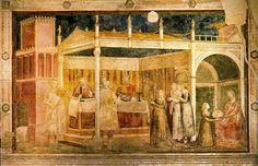 El festín de Herodes (1314) Giotto di Bondone