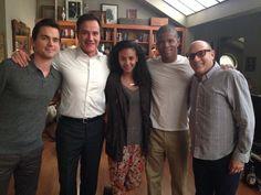 White collar season 6 begins! @SharifAtkins @TimDeKay @WillieGarson @Marsha_Thomason pic.twitter.com/OpLGVk75Wn