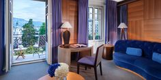 Le Richemond is an exclusive luxury 5-star hotel in Geneva, Switzerland and offers magnificent views of Lake Geneva & Brunswick Gardens.