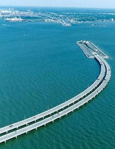 Denmark To Sweden, underwater bridge. vinnettemarcell