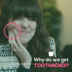 ¿Porqué tenemos dolor de dientes?  R: Este tipo de dolor es señal de que algo anda mal con nuestra salud dental y debe revisarse aunque el dolor sea pasajero, especialmente si éste va en aumento con el paso del tiempo. Recuerda que una infección, con el paso del tiempo, puede traer más dolor y convertirse en un problema más difícil de resolver.