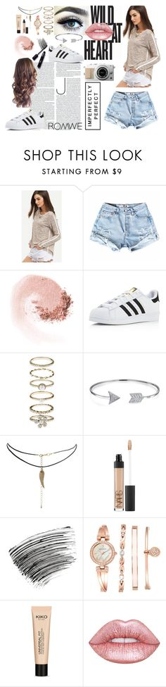 """***"" by rhiannonpsayer on Polyvore featuring NARS Cosmetics, adidas, Accessorize, Bling Jewelry, ASOS, Bobbi Brown Cosmetics, Anne Klein and Lime Crime"
