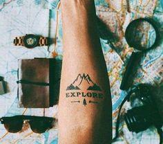 Tatuaggi uomo avambraccio - Tattoo avambraccio per viaggiatore