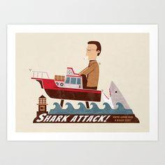 Shark Attack - $16.00
