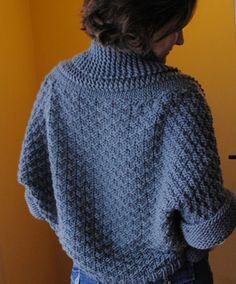 Cozy muse n. bolero pattern (ravelry).