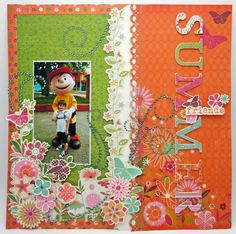 summer breeze layout lori williams