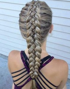 5 strand dutch braid More