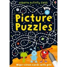 Picture Puzzles (Usborne Puzzle Cards) - great for journeys