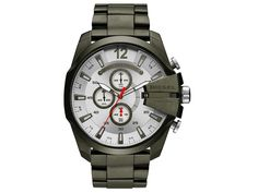 Diesel R) Mega Chief Chronograph Bracelet Watch, Diesel Watches For Men, Sport Watches, Cool Watches, Men's Watches, Stylish Watches, Fashion Watches, Black Stainless Steel, Stainless Steel Bracelet, Smartwatch
