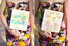 Colorful DIY Wedding: Ariana + Cody