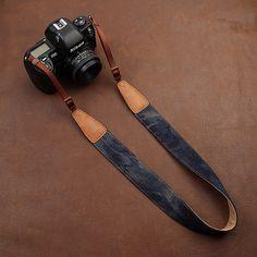 DSLR Leather Camera Strap  Nikon / Canon Camera by AllureLove, $29.99