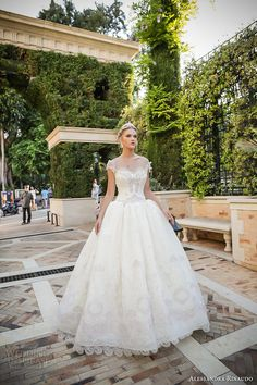 ALESSANDRA RINAUDO 2017 bridal cap sleeves sweetheart neckline heavily embellished bodice princess ball gown wedding dress lace back chapel train (35) mv #bridal #wedding #weddingdress #weddinggown #bridalgown #dreamgown #dreamdress #engaged #inspiration #bridalinspiration #weddinginspiration #weddingdresses #ballgown