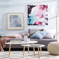 Urban Pastel Living | Kmart