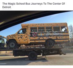 Magic School Bus - Detroit