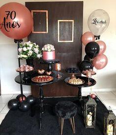Birthday Party Desserts, 30th Party, 70th Birthday Parties, Graduation Party Decor, Happy Birthday Banners, Birthday Party Decorations, Valentines Day Decorations, Baby Shower Deco, Mexican Birthday