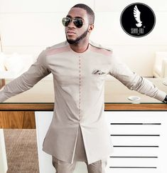 Every Sunday we update this page with the best and latest of men fashion. African Wear Styles For Men, African Shirts For Men, African Dresses Men, African Attire For Men, African Clothing For Men, Latest African Fashion Dresses, African Men Fashion, Nigerian Men Fashion, Mens Kurta Designs