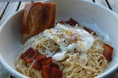 breakfast pasta-eggs eggs eggs