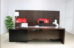 Carol Executive Desk A-B
