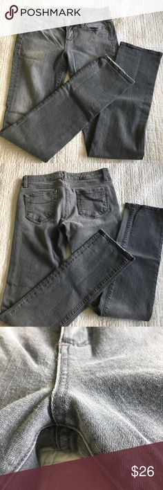 Paige Heights Skinny Jeans - 29 Paige Heights Skinny Jeans, size 29.  Slate gray color. Paige Jeans Jeans Skinny