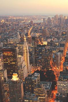 New York City Feelings - the lights of manhattan